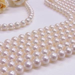 冠婚葬祭に。アコヤ真珠ネックレスセット