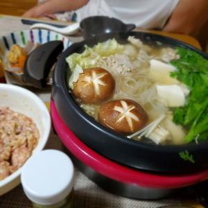 【鶏のちゃんこ鍋】の晩ごはん&取り寄せた【柚子こしょう】の感想♪