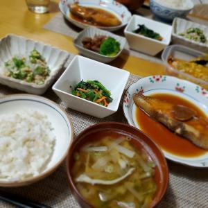 【煮魚】であっさりな晩ごはん♪