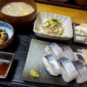 〆鯖で【さば寿司】の晩ごはん