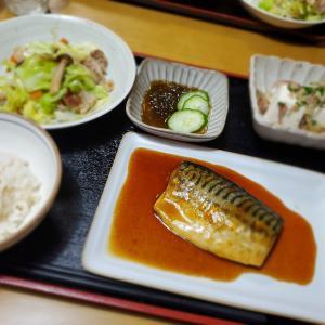 【鯖の煮付け定食】の晩ごはん&ベビーカステラ