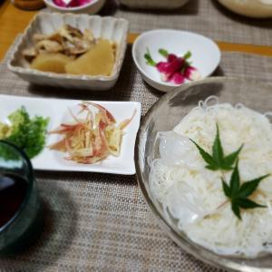 【冷やし素麺】のリクエスト