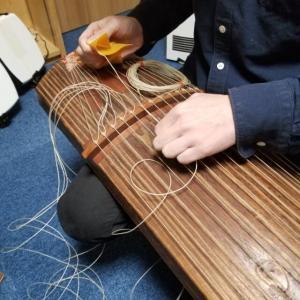 糸締め練習
