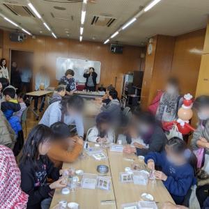 住いの学習館 クリスマスイベント シラスアレンジ
