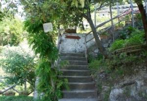 南イタリア ミノーリにあるレモン農園アグリツーリズモ