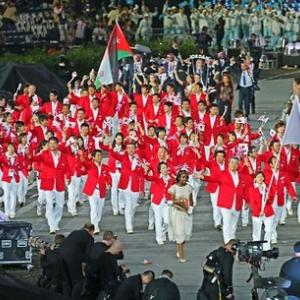 ロンドンオリンピック開会式で日本選手団だけ退場させられた!