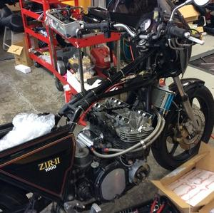 Z1RⅡ 修理