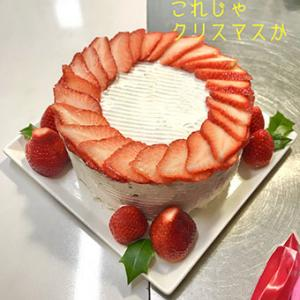 ★☆ いちごケーキ/娘へのリベンジケーキ…