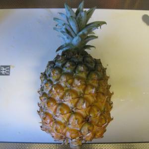パイナップルの切り方(自己流)