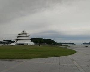 三角港フェリーターミナル 海のピラミッド(熊本県宇城市)