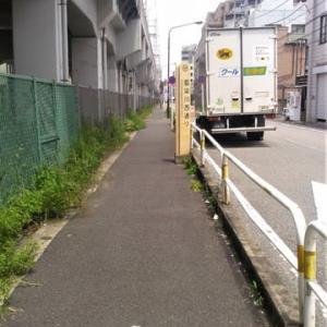 京成上野駅~青砥駅。その6。「藍染川通り」再訪。「花の木(橋)」交差点。都電荒川線。