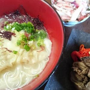 この連休、食事制限中だけど、天ぷらとカレーを食しました。