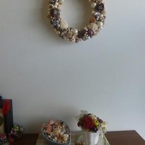 玄関インテリア(クリスマス)