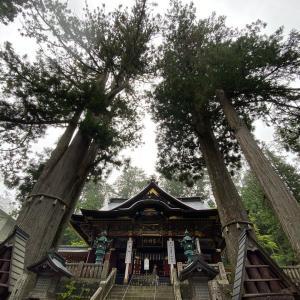 毎年参拝に訪れる、秩父の山の最奥、三峰神社。