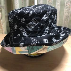 課題帽子&ハロウィンキルト