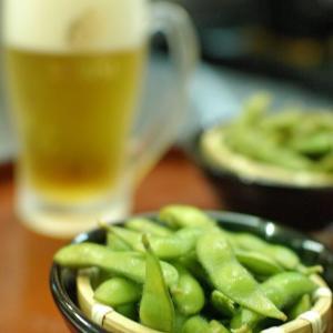 夏はビールと枝豆( `ー´)ノ