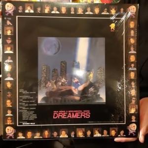 大昔に‼️奈良のライブハウスのビバリーヒルズの制作でみんなで出したLPレコード(^...