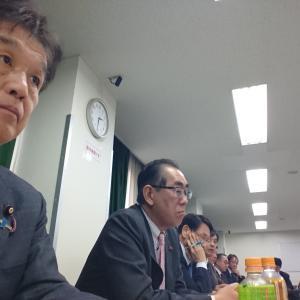 兵庫県神戸市で 「移動」自民党教育再生実行本部 教育諸団体からの聴き取り