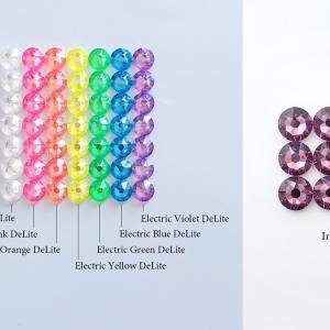 色確認に1粒ずつ欲しい方へ、2021新色スワロフスキーセット販売!