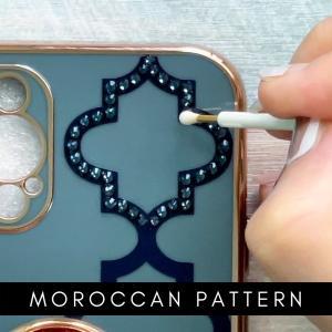 モロッカンデコの制作模様。動画で♪