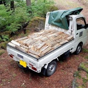 八ヶ岳西麓原村(4)焚きものもりや / 薪ストーブ用の薪を買ってみよう