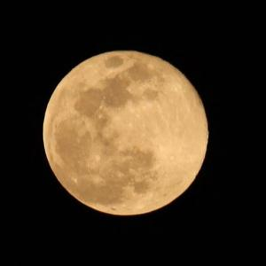 満月&コロナ