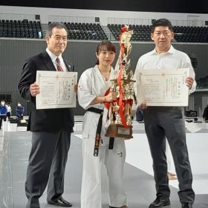 2020全日本女子空手道選手権大会 結果