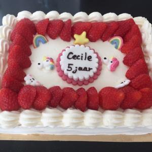 セシールのお誕生日