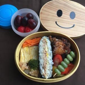 5月ぶりに作った日本語補習校のお弁当