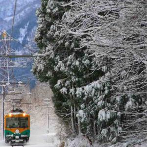 コロナ禍での年末年始遠征5【冬の富山地鉄】