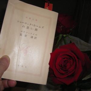 シャーロック・ホームズにちなんで #在宅読書 #家にいる #週末には薔薇を