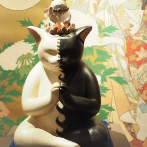 「千の福ねこアート展」とハロウィンにゃんず(3)
