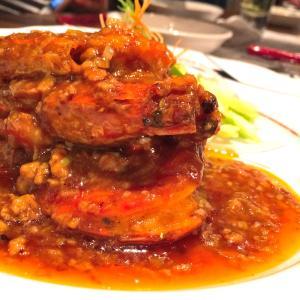 週末夜は2部でした。@中国料理最高~老虎菜 オーキッドコート店 (ラオフーツァイ)
