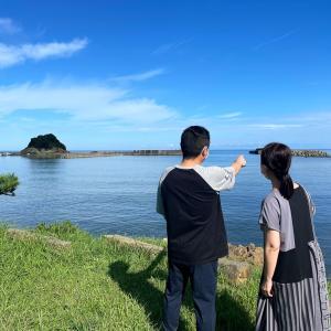 京丹後の浦島伝説巡り&レンタル」釣り具セットで釣り! 京丹後満喫旅行ですね!