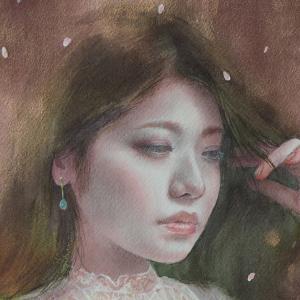 作品「桜姫」一部分☆☆「秋水展」特設サイト