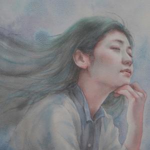 作品☆F4号「風の通り道」大阪満席になりました☆