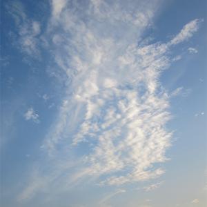 夏至の夕焼け空