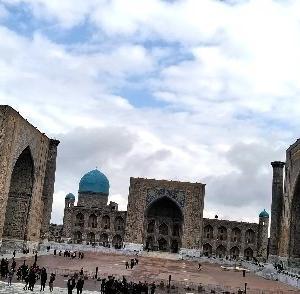 世界遺産「シャフリサブス」 -ウズベキスタンー