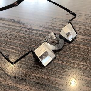 ロッククライミング用のメガネ