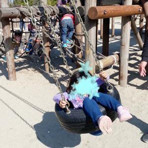 ☺︎ 次女ちゃん幼稚園慣れと 休日公園 ☺︎