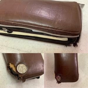 おニューの財布。。。主人