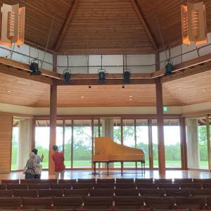 ■カラマツチェンバロの美しい音色と八ヶ岳高原音楽堂 / Beautiful sound of Japanese larch harpsichord