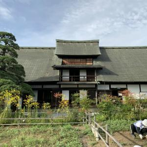 ■甘草屋敷 しっくいの壁/ Japanese traditional house : beauty of  wood construction and lime plaster