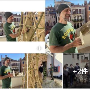 ■ECC Venezia Project JINEN 左官土塗り / Earth Plastering work