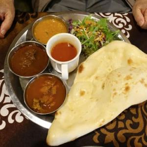 急に、インド料理