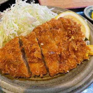 【とんかつ美竹】のトンカツ定食