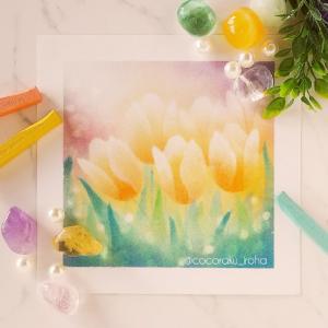 *春色が使いたくなる季節(パステルアートご受講生さま作品ご紹介)*