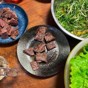 空腹で夫イライラ爆発→牛肉にありつけた夕食
