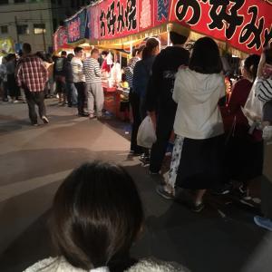 神社の秋祭り