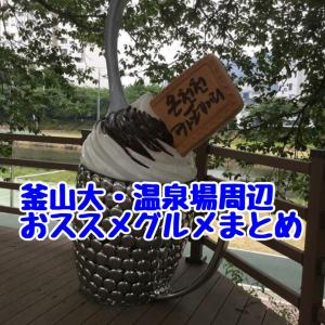 【釜山大周辺エリアグルメまとめ】釜山在住者がおススメグルメ!随時更新中